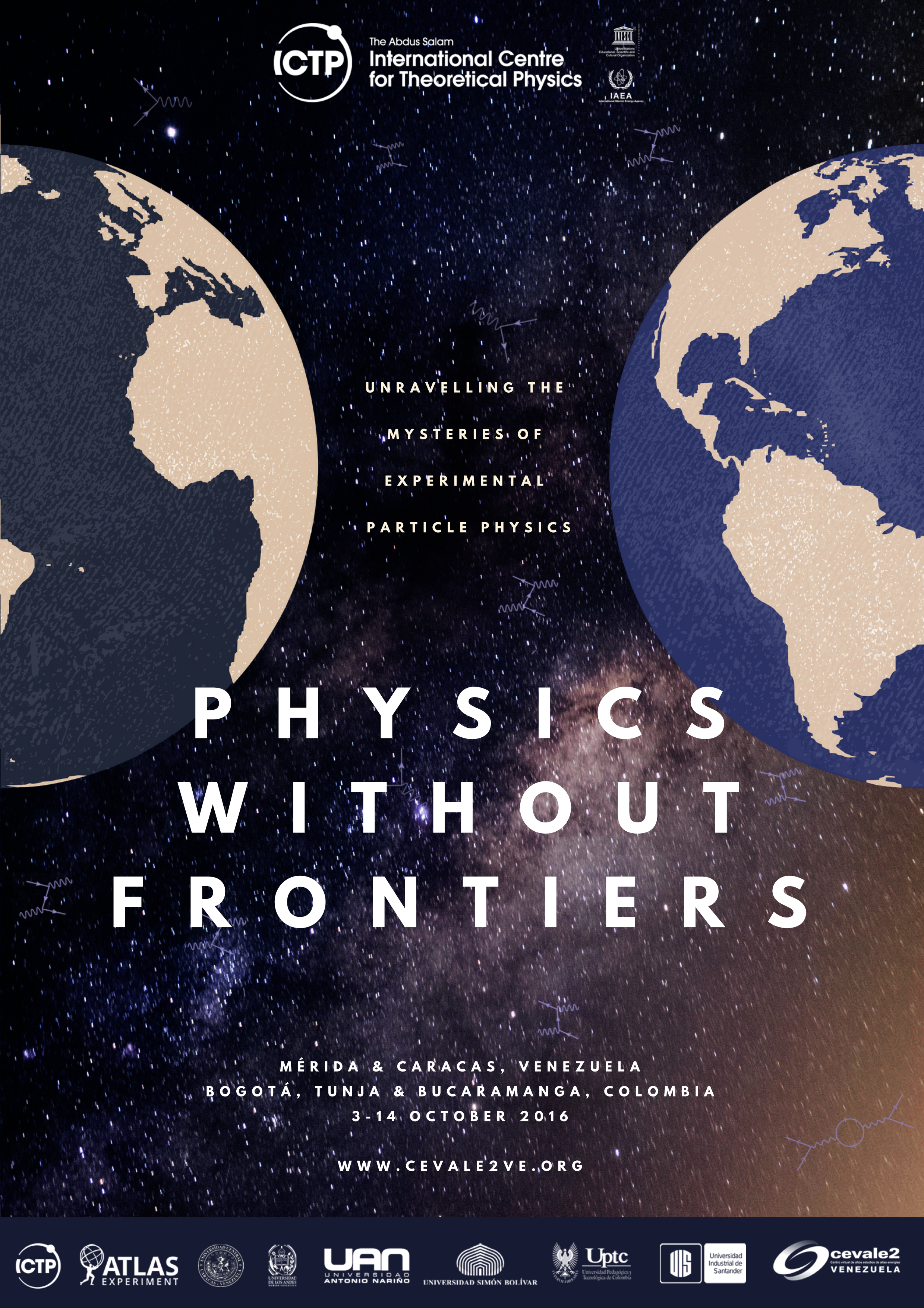 Physics Without Frontiers   CEVALE2VE